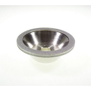 Diamond rim coated grinding cup - 100mm
