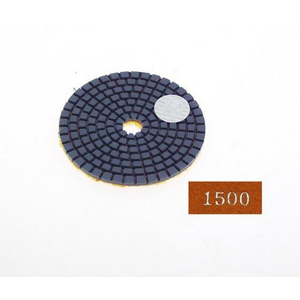 "Diamond flexible polishing pad -3"" #1500 wet"