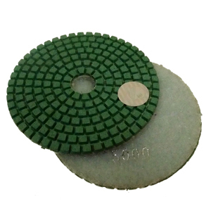 "Diamond flexible polishing pad -4"" #5000 wet"