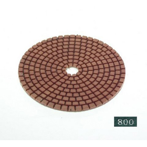 "Diamond flexible polishing pad -4"" #800 dry"