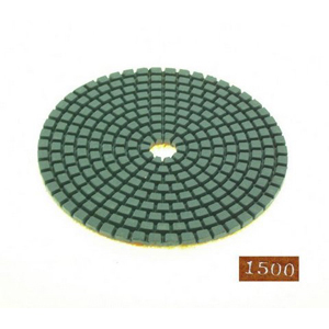 "Diamond flexible polishing pad -4"" #1500 dry"