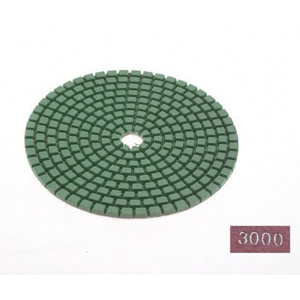 "Diamond flexible polishing pad -4"" #3000 dry"