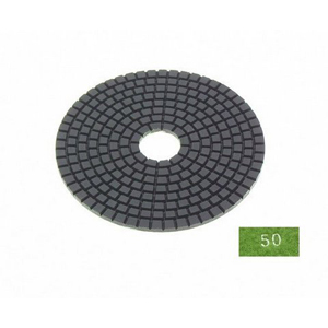 "Diamond flexible polishing pad -5"" 50# wet"