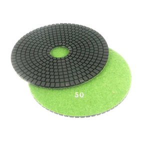 "Diamond flexible polishing pad -6"" 50# wet"