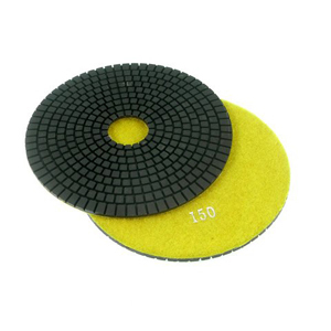"Diamond flexible polishing pad wet - 6"" 150#"