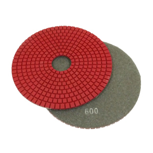 "Diamond flexible polishing pad wet - 6"" 600#"