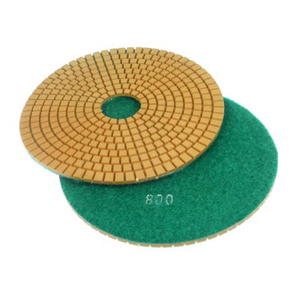 "Diamond flexible polishing pad wet - 6"" 800#"