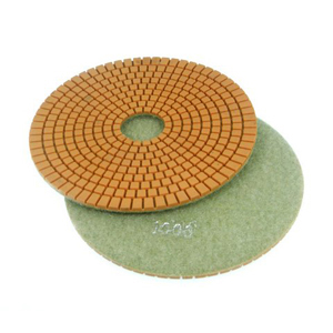 "Diamond flexible polishing pad wet - 6"" 1000#"