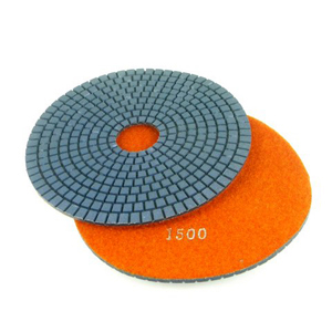 "Diamond flexible polishing pad wet - 6"" 1500#"