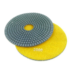 "Diamond flexible polishing pad wet - 6"" 2000#"