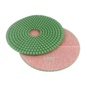 "Diamond flexible polishing pad -7"" #3000 wet"