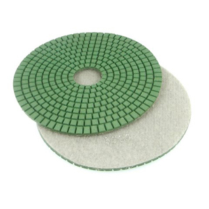 "Diamond flexible polishing pad wet - 6"" 5000#"
