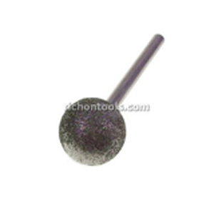 Diamond coated points sphere - 25mm 80#