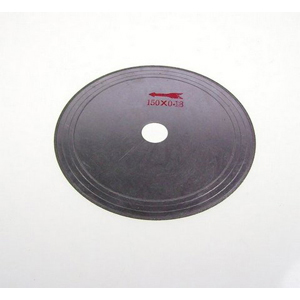 "Diamond rim coated cutting blade - 6"" x 0.18mm"