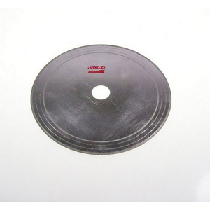 "Diamond rim coated cutting blade - 6"" x 0.25mm"