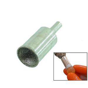 Diamond coated sphere forming bit - 20mm
