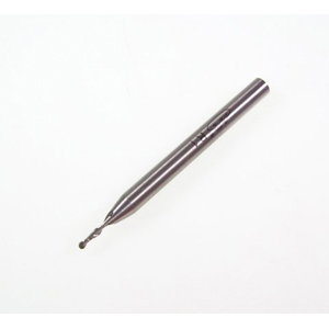 HSS ball nose end mill - 2mm