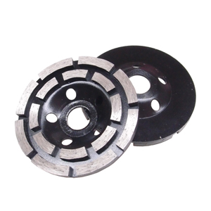 Diamond grinding wheels double row - 100mm 4""