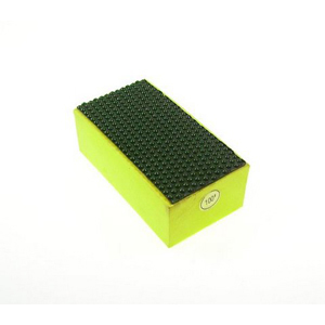 Diamond resin bond polishing hand pad dot pattern - 100#