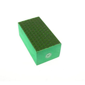 Diamond resin bond polishing hand pad grid pattern - 100#