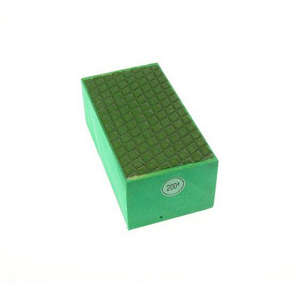 Diamond resin bond polishing hand pad grid pattern - 200#