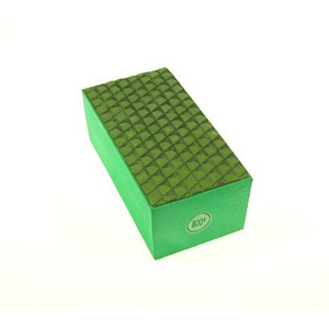 Diamond resin bond polishing hand pad grid pattern - 800#