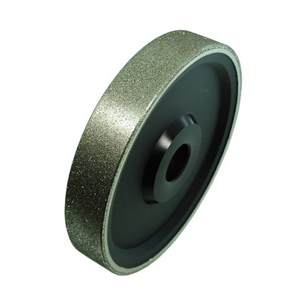 "Diamond coated grinding wheel plastic core - 8"" X 1-1/2"" 80#"