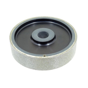 "Diamond coated grinding wheel plastic core - 6"" X 1-1/2"" 120#"