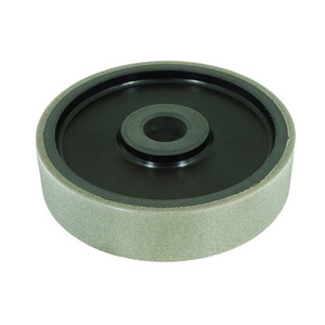 "Diamond coated grinding wheel plastic core - 6"" X 1-1/2"" 220#"