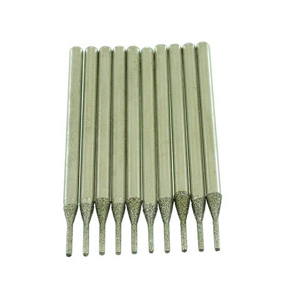 Diamond coated drill bits 10 pcs - 0.7mm