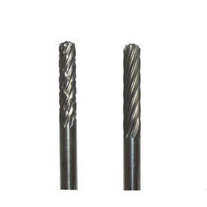 Carbide burr cylinder with round head - 3x13mm