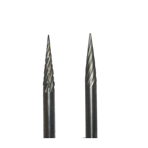 Carbide burr cone with pointed head - 3x13mm