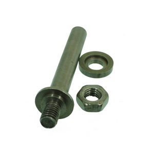 Mounting shaft for 12mm hole blades