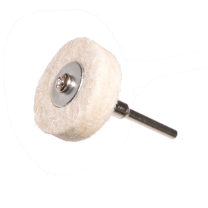 Felt polishing Point flat - 25x5x3mm