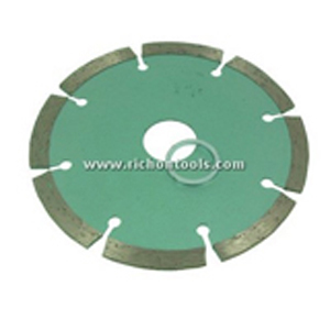 Diamond segment cutting blade 8 segments - 4""