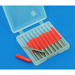 TC engraving bit 10 pcs 20 deg x 0.1 x 3.175mm