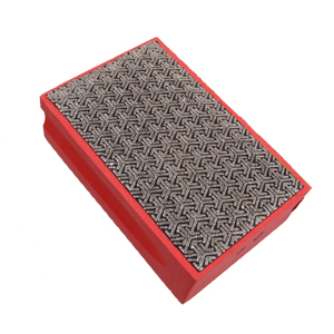 Diamond coated hand pad 60#