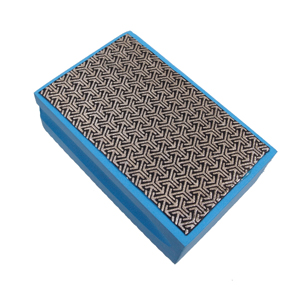 Diamond coated hand pad 400#