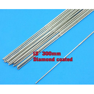 Diamond coated cutting wire 1x400mm