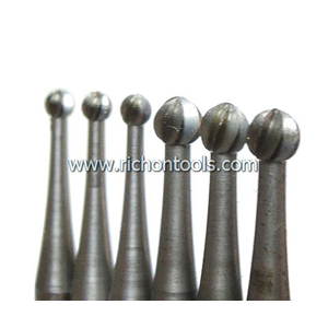 Precision carbide ball burr/drill bit 2.1mm