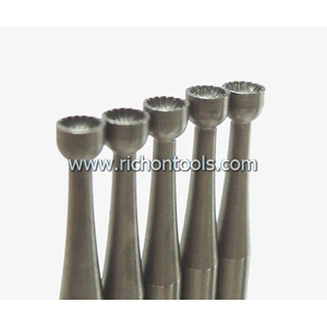 Precision carbide cup shape burr 1.8mm