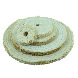 Sisal buffing wheel 2""