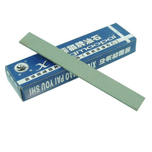 Precut GC oil stone stick 3x25x200mm 400#
