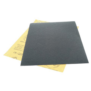"Black silicon carbide waterproof sanding paper 9x11"" 2000#"