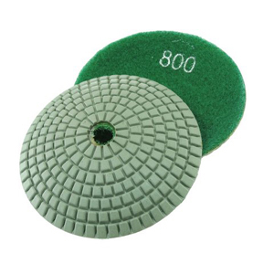 "Diamond resin bonded concave polishing pad 4"" 800# wet"