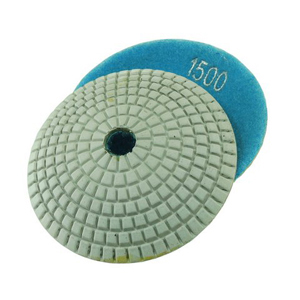 "Diamond resin bonded concave polishing pad 4"" 1500# wet"