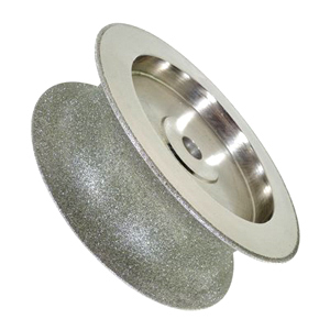 Diamond coated sphere grinding wheel 80# 50x160mm
